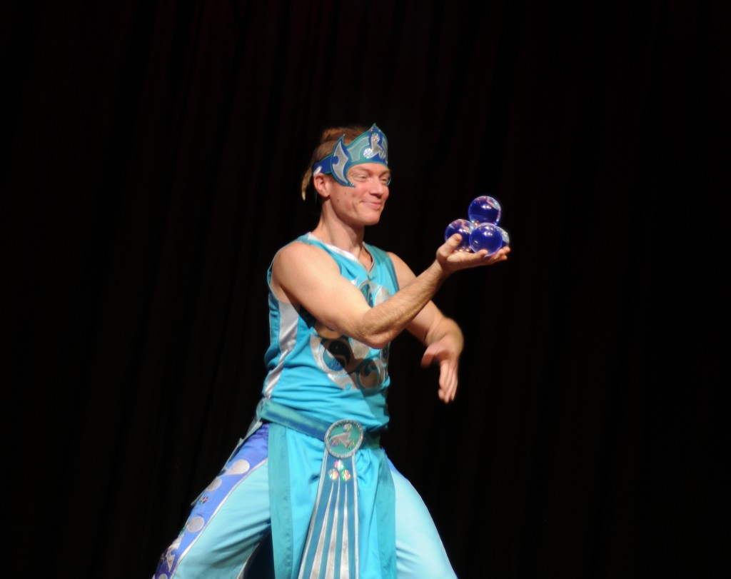 The Fluid Druid in the Durham show